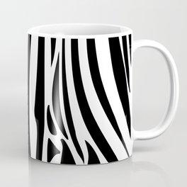 Zebra trendy design artwork animal exotic pattern Coffee Mug