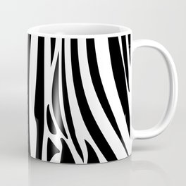 Zebra trendy design artwork animal exotic pattern Coffee Mug