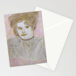 Pearl in Pencils Stationery Cards