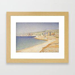 The Jetty at Cassis, Opus 198 Framed Art Print
