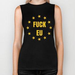 Funny Brexit Gift for Britains EU Referendum Voters Antibrexit Campaigners Biker Tank