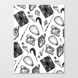 hp artifacts pattern Canvas Print