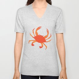 Lets Eat Some Crabs! Unisex V-Neck