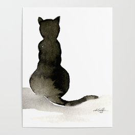 I Love Cats No. 2 by Kathy Morton Stanion Poster