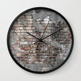 New Orleans Bricks Wall Clock
