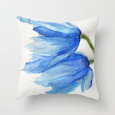 Windswept Throw Pillow