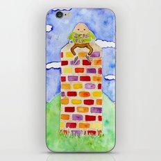 Humpty Dumpty - Before The Fall iPhone & iPod Skin