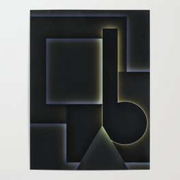 Lit Up Poster