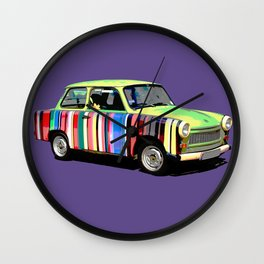 Ultra Violet Car Wall Clock