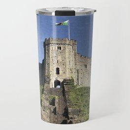 Cardiff Castle Keep-Wales UK Travel Mug