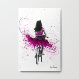 Quintessential Cycle Metal Print