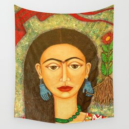 My homage to Frida Wall Tapestry