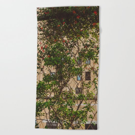Urban Garden Beach Towel