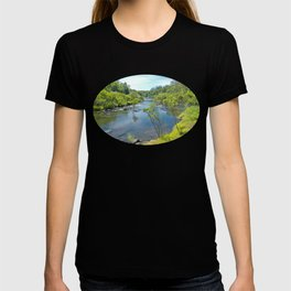 Magnificent tranquil river T-shirt