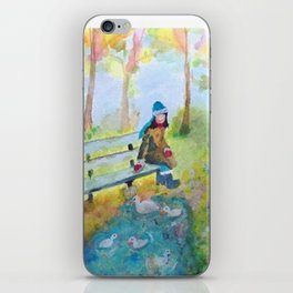 A Day At The Park iPhone Skin