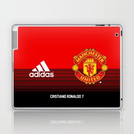 Ronaldo - Manchester UNited HOme 2018/19 Laptop & iPad Skin