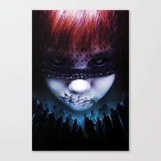 Leave A Scar Canvas Print