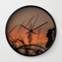 A magical sunset Wall Clock