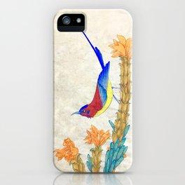 Minhwa: Little Bird (Korean traditional/folk art) iPhone Case