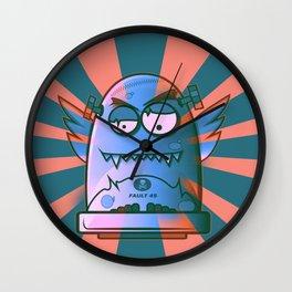 Fault 45 02 (its not his fault) Wall Clock