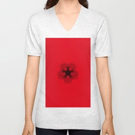 Mandela design hoodies and shirts Unisex V-Neck