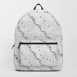 White Ribbon Backpack
