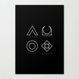 PAUSE – RAID Canvas Print