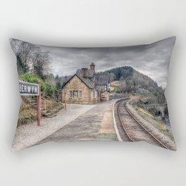 Berwyn Railway Station Rectangular Pillow