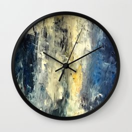 Choppy Ocean Wall Clock