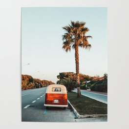 Summer Road Trip Poster