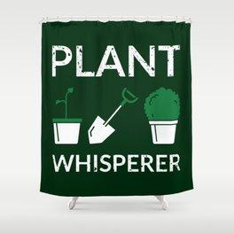 Plant Whisperer I Shower Curtain