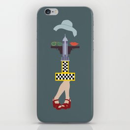 Taxi driver iPhone Skin