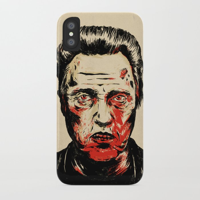 Walken Dead iPhone Case