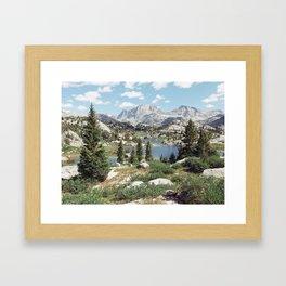 Wyoming Summer Framed Art Print
