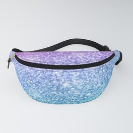 Pink Ombre Glitter Fanny Pack