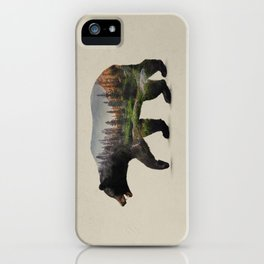 The North American Black Bear iPhone Case