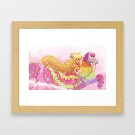 Princess Pinata Framed Art Print