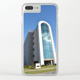Northeastern State University - The W. Roger Webb IT Building, No. 4 Clear iPhone Case