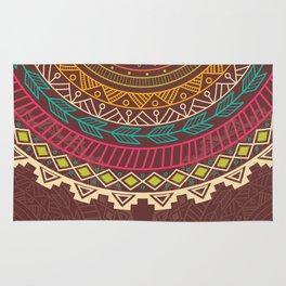Aztec ornament Rug