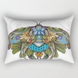 Botanical Butterfly No. 1 Rectangular Pillow