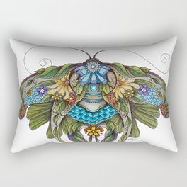 Botanical Butterfly No. 1 Rectangular Pillow