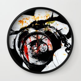 Love Defeated Wall Clock
