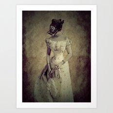 Classy Meets Selfie  (Vintage) Photogenic Series  Art Print