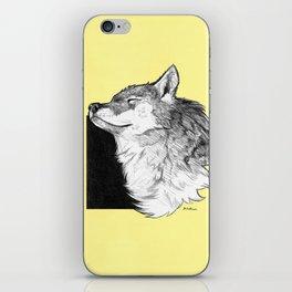 Sunny Wolf iPhone Skin