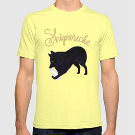 Shipwrecke (Blue and Beige) T-shirt