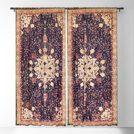Agra North Indian Rug Print Blackout Curtain
