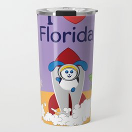 Ernest and Coraline | I love Florida Travel Mug