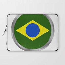 brazil flag Laptop Sleeve