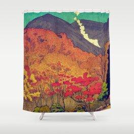Autumn Baths in Kaanaii Shower Curtain