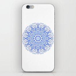 Mandala 12 / 2 eden spirit indigo blue iPhone Skin